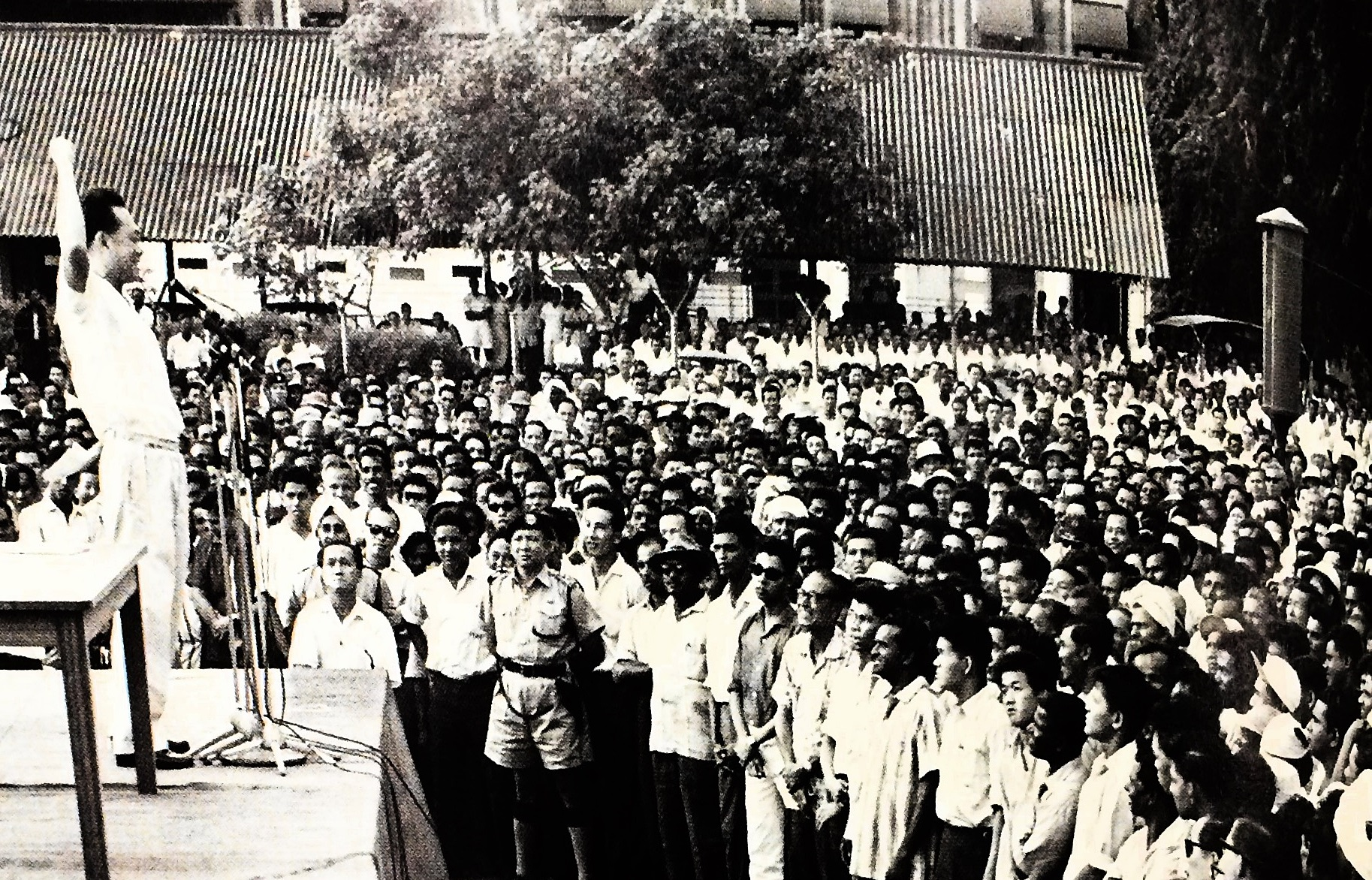 Today in Singapore History: Workers Strike Over Verbal Abuse